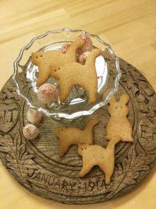 猫モチーフのクッキー