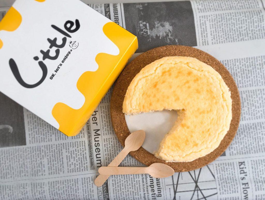 熟成とろとろチーズケーキカット写真
