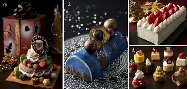 第一ホテル東京期間限定クリスマスケーキ&スイーツ