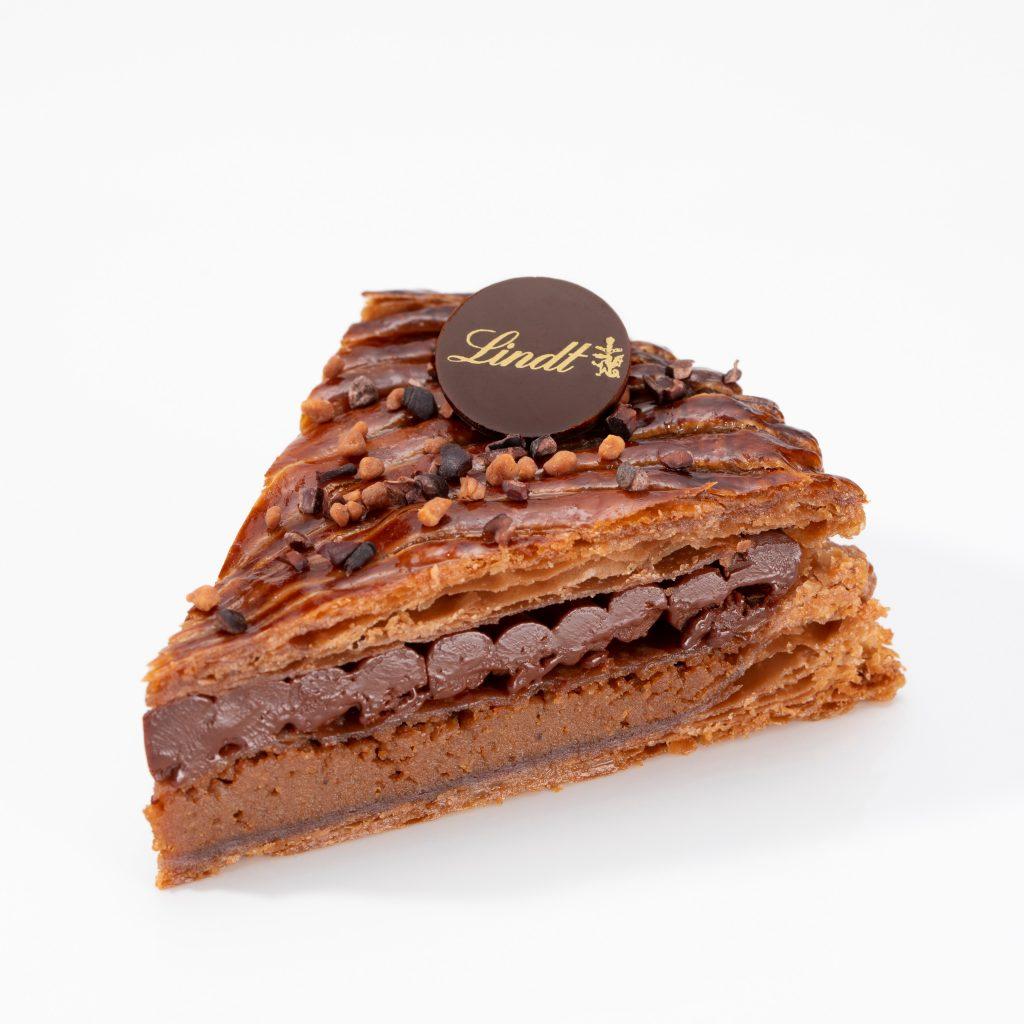 ピースサイズのガレット・デ・ロワのケーキセット