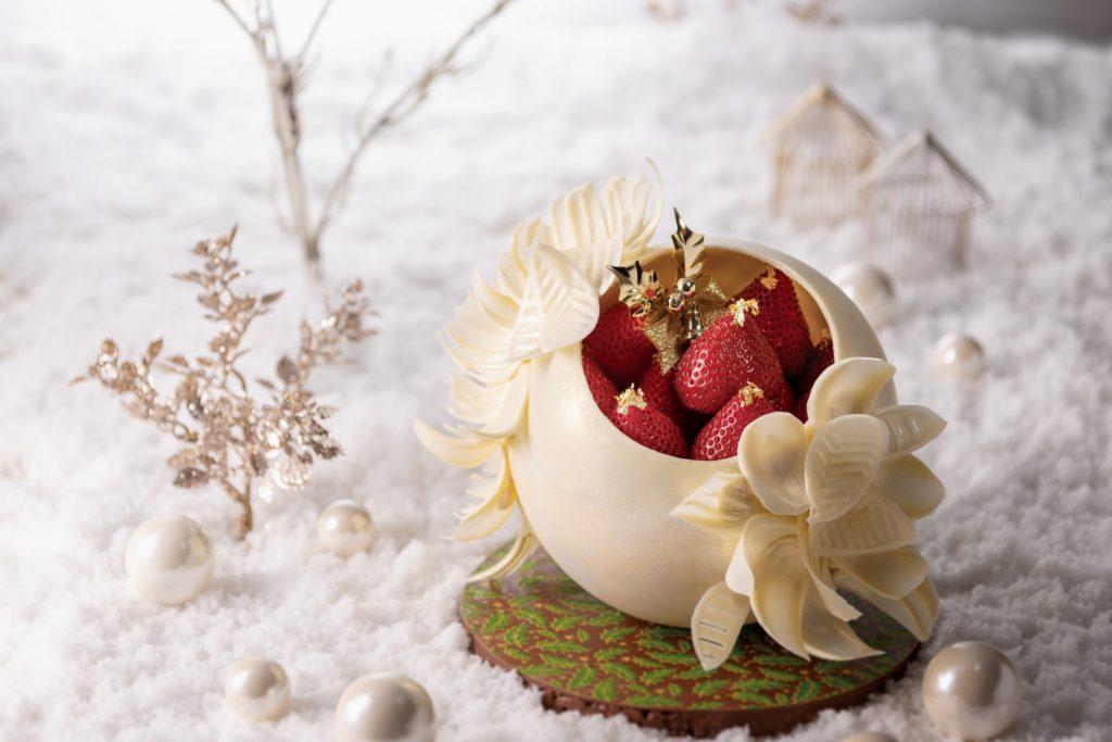 プレミアム・クリスマスケーキ「Boule de neige ~ブール・ド・ネージュ~」