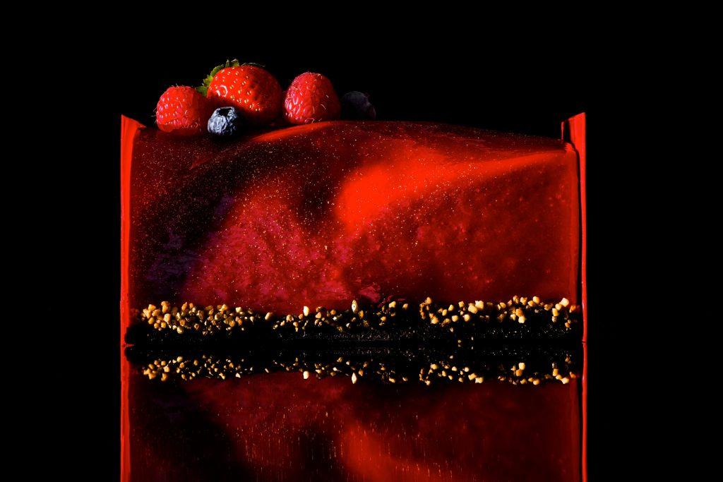 いちごが主役のクリスマスケーキ