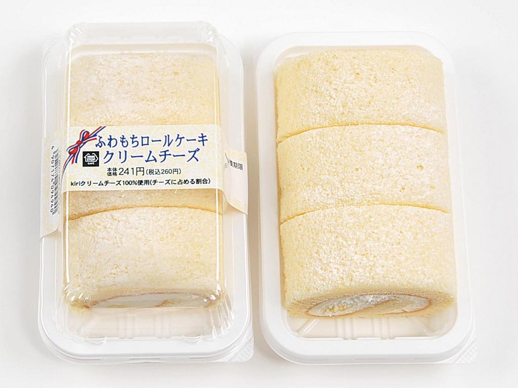 ふわもちロールケーキ クリームチーズ