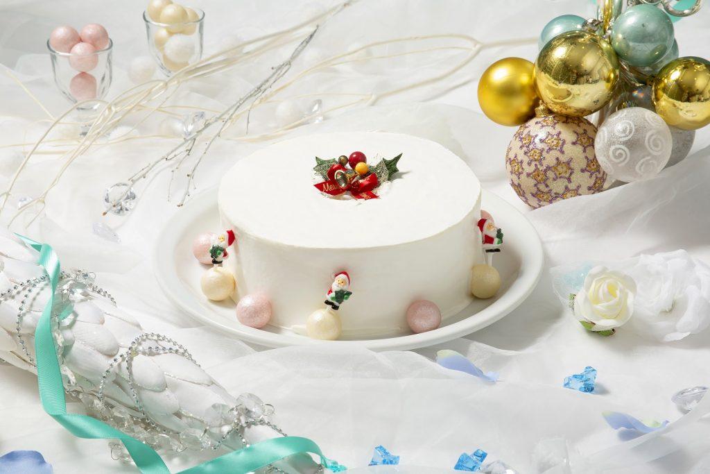 紅茶のシフォンケーキクリスマススタイル