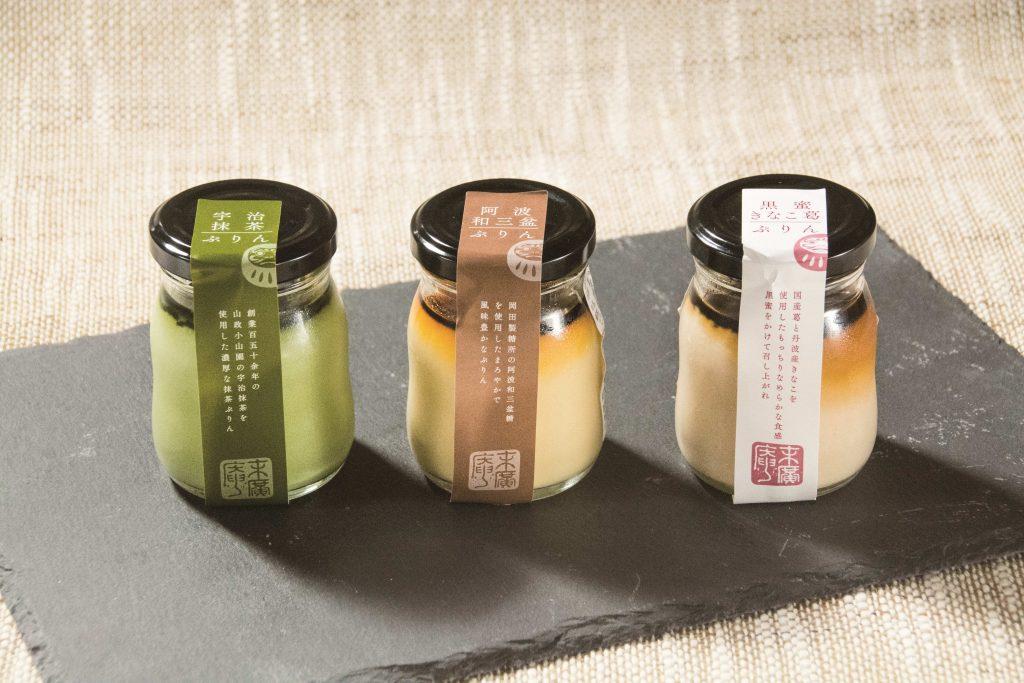 ラゾーナ川崎プラザ店リニューアルを記念し新発売される和素材のプリン3種