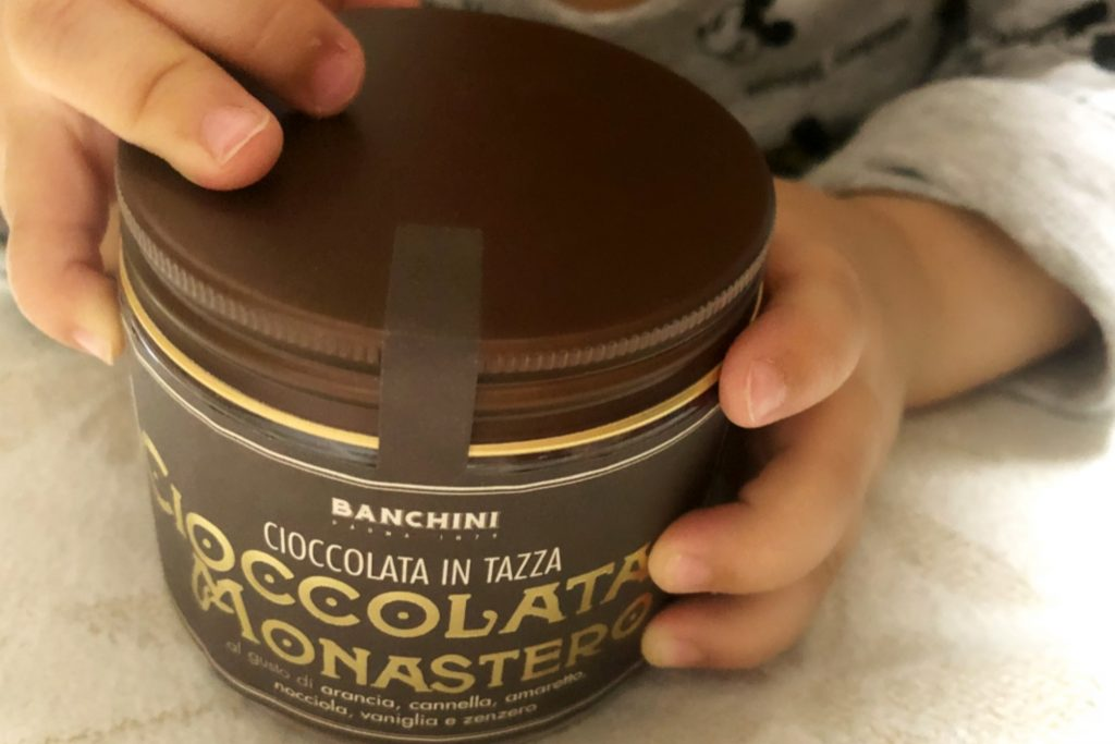 飲むチョコレート「修道院のチョコラータカルダ」