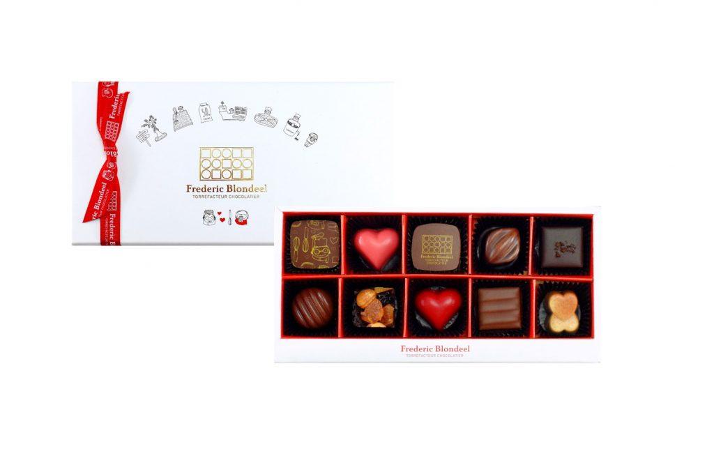 「ショコラコレクション 10コ」2,400円(税別)