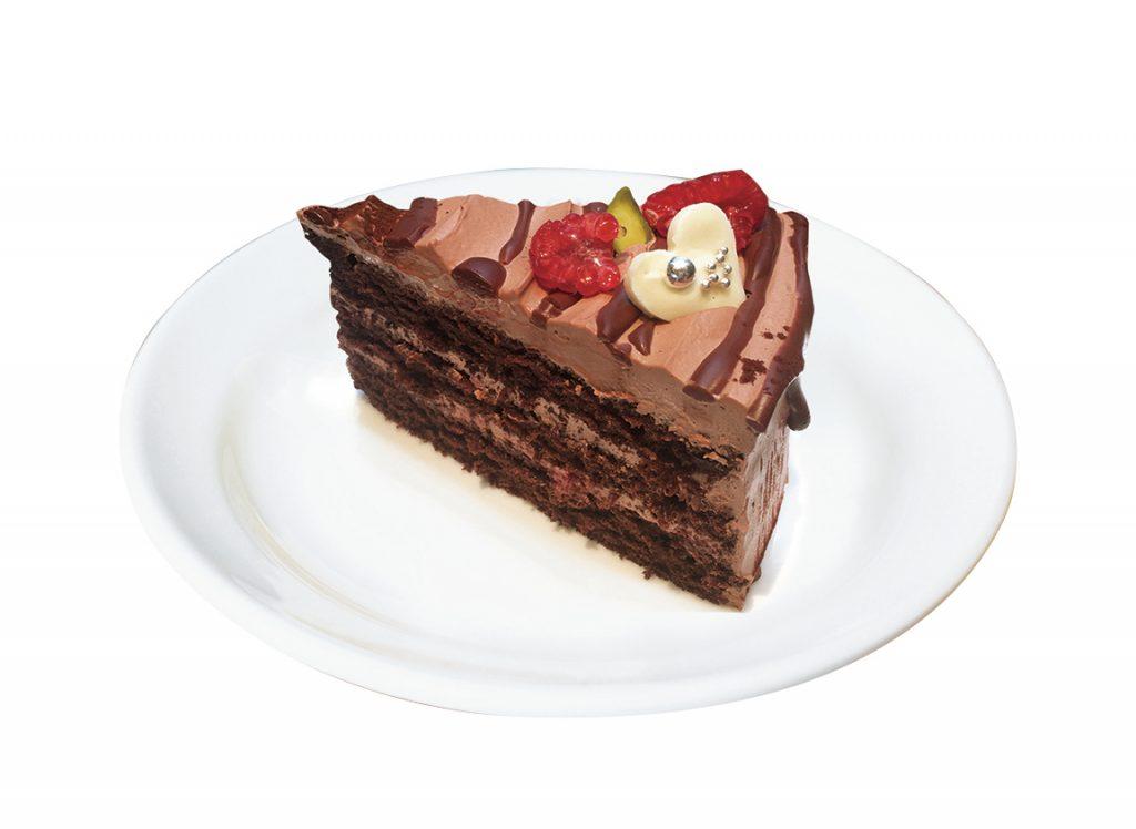カフェ コクテル堂(3F) ラズチョコケーキ