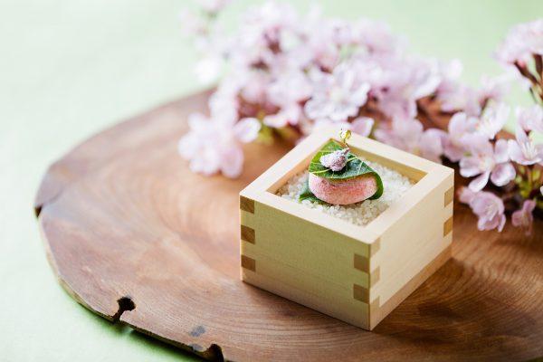 <1品目:桜餅のギモーブ・苺桜(いちござくら)>