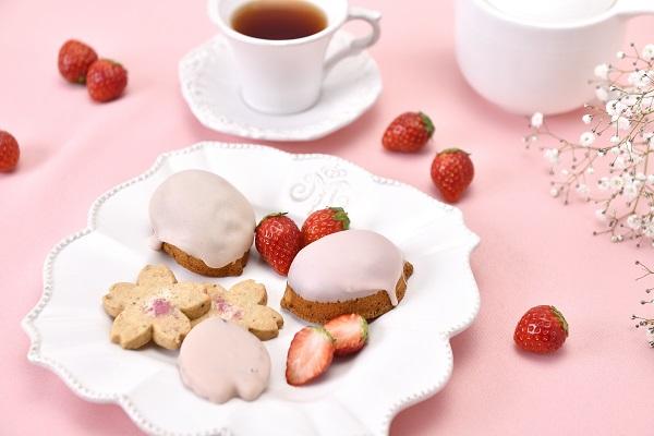 いちご×桜を使った3つの人気焼菓子