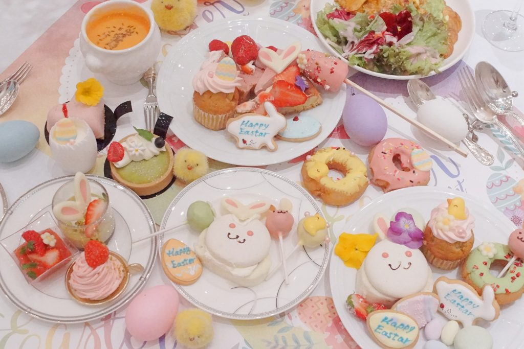 『イースターデザートブッフェ』〜エッグハント&ストロベリーガーデン〜