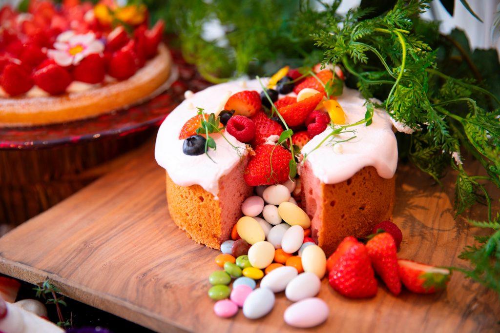 お菓子なシフォンケーキ