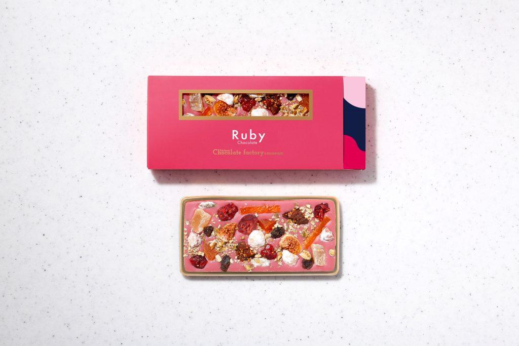 ルビー・タブレットチョコレート