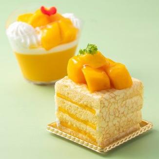 マンゴープリン、マンゴークレープショートケーキ