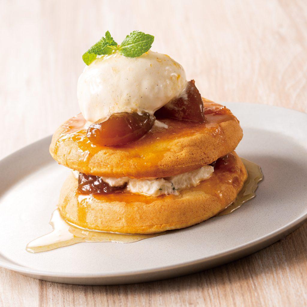 The CHOYA 至極の梅パンケーキ