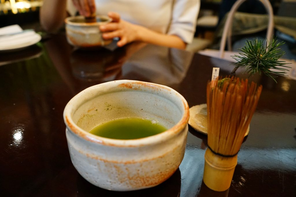 抹茶アフタヌーンティーセット