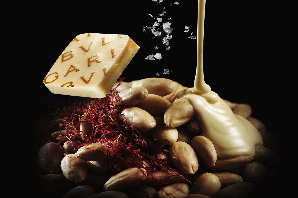 チョコレート・ジェムズ3個入り リミテッド エディション サフラン&アーモンド
