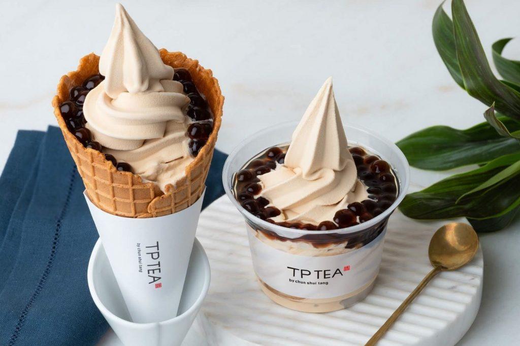 TP TEA タピオカソフトクリーム