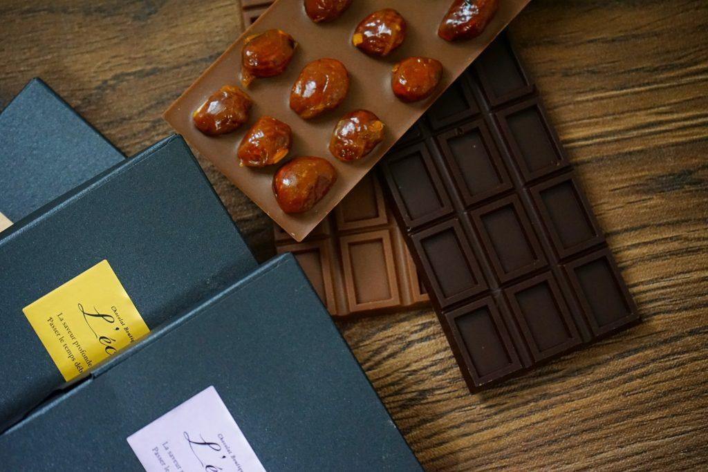 7種のタブレットショコラ「レクタングル」